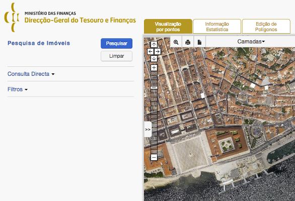 Projeto Imóveis do Estado - Direção-Geral do Tesouro e Finanças