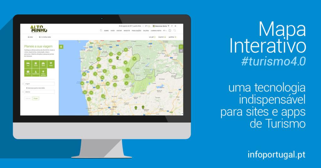 mapa de portugal interativo Mapa interativo: uma tecnologia indispensável para sites e apps de  mapa de portugal interativo