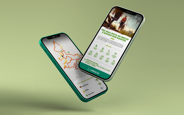 app Rotas de Mação, desenvolvida por Infoportugal