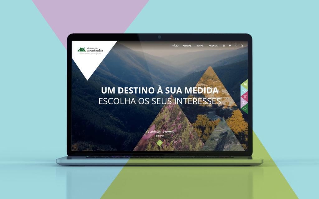 website turismo aldeias de montanha by infoportugal